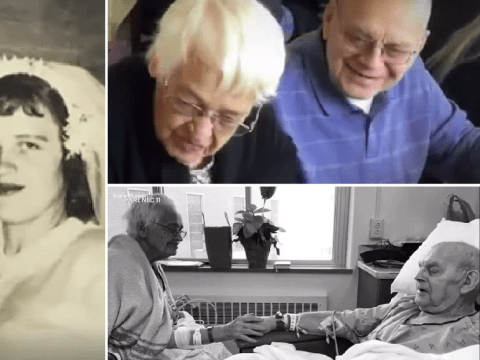 Soulmate couple happily married for 68 years die just a day apart
