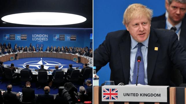 Boris Johnson and Nato