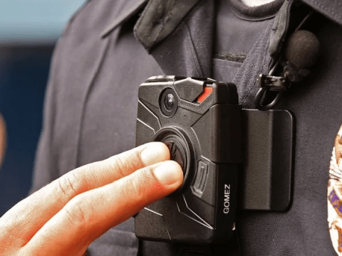 Police officer 'caught fondling dead woman's breast' on his own body camera