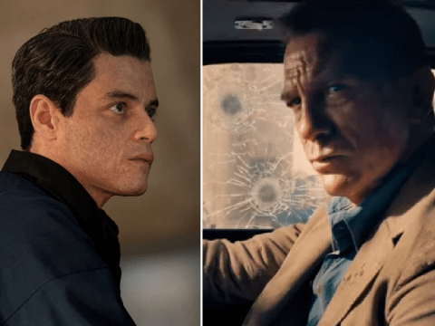 Epic moment James Bond meets Rami Malek's Safin as No Time To Die trailer finally drops