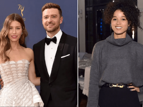 Jessica Biel 'standing by Justin Timberlake' as he breaks silence after holding hands with Alisha Wainwright