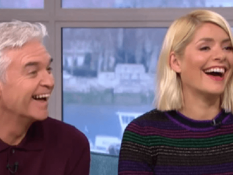 Phillip Schofield and Holly Willoughby giggle in workplace bullying interview amid 'rift' row