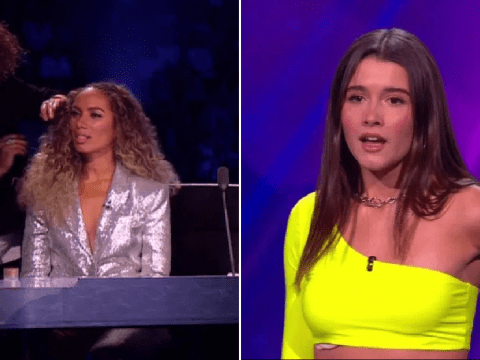 Leona Lewis throws shade at X Factor: The Band contestant as she gets protective over Spice Girls