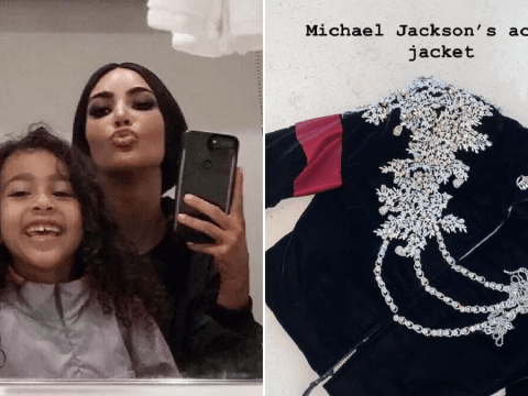 Kim Kardashian gifts North, 6, with Michael Jackson's $65,000 jacket for Christmas