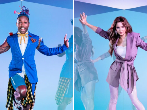 Todrick Hall can't understand a word Geordie Cheryl's saying on The Greatest Dancer