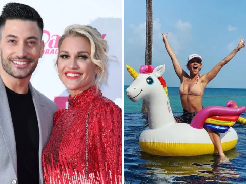 Pussycat Dolls' Ashley Roberts lives her best life on romantic holiday with boyfriend Giovanni Pernice