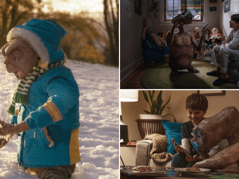 E.T. goes bobsledding and learns about the internet in emotional extended cut of sequel Christmas ad