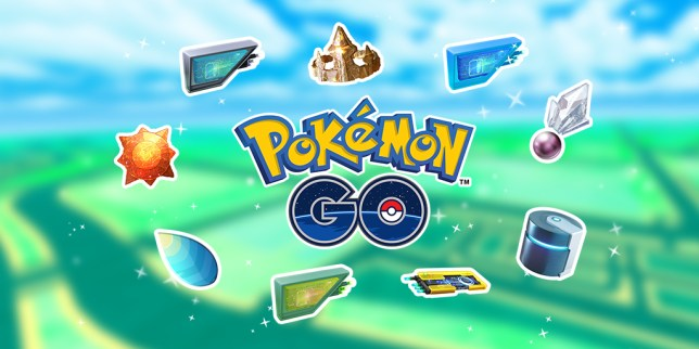 Pokémon Go evolution items