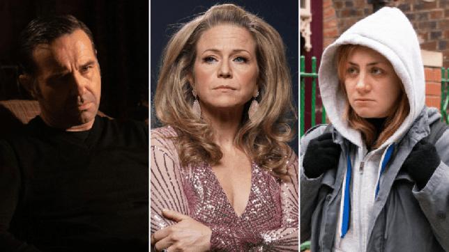 Graham Foster in Emmerdale, Linda Carter in EastEnders and Jade Rowan in Coronation Street