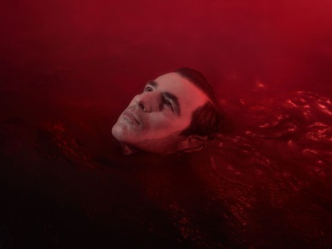 Dracula swims in pool of blood in terrifying new pictures as BBC confirm release date
