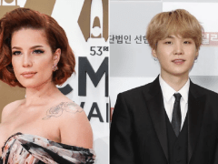Halsey reveals new song Suga's Interlude and fans are obsessed with the collab