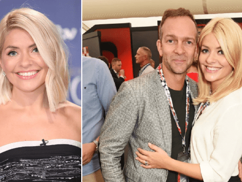 Holly Willoughby thought husband Dan Baldwin was a 'd**khead' when they first met