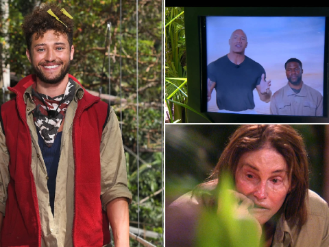 I'm A Celebrity recap: Myles Stephenson voted off, Caitlyn Jenner receives mystery letter and The Rock makes surprise appearance