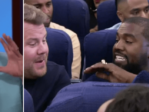 James Corden was convinced Kanye West would pull out of plane Carpool Karaoke last-minute after cancelling twice