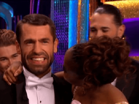 Strictly's Kelvin Fletcher fights back tears after he finally landing perfect 40 with Oti Mabuse
