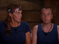 Corrie's Beth is not happy that Caitlyn is close to her Kirk in I'm A Celebrity