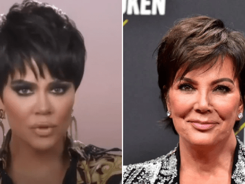 Khloe Kardashian impersonating 'drunk' Kris Jenner is the best thing you'll see today