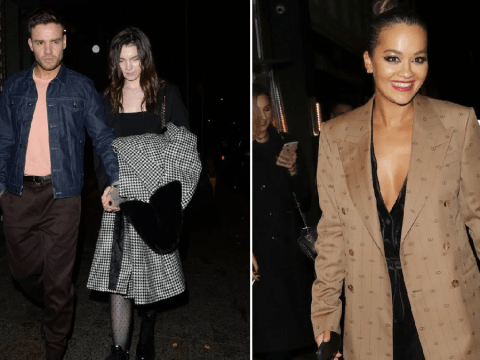 Liam Payne hits the club with Rita Ora and girlfriend Maya Henry amid album backlash