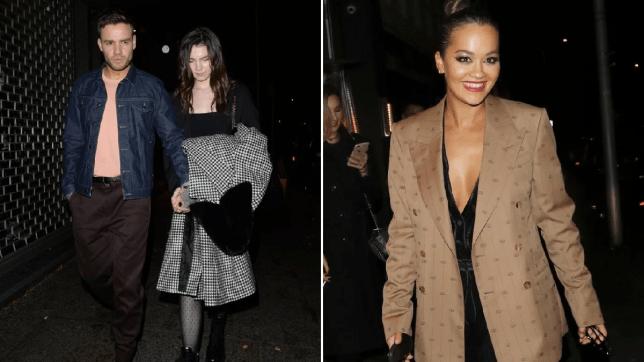 Liam Payne parties with Rita Ora and girlfriend Maya Henry