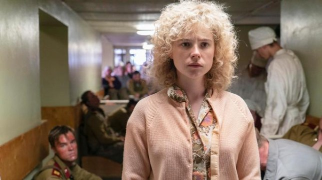 Jessie Buckley in Chernobyl as Lyudmilla