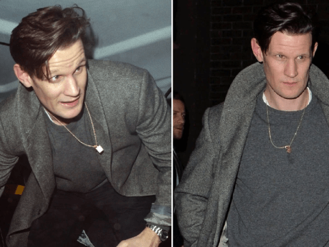 Matt Smith parties in London hours after he's pictured with Lily James amid split claims