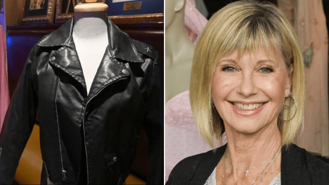 Buyer Of Olivia Newton John S 185k Grease Leather Jacket Returns It Metro News