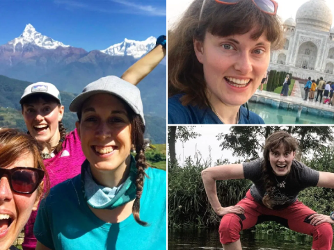 Teacher gives up her job to take up 365 days of adventures