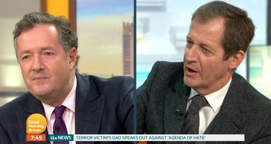 Piers Morgan and Alistair Campbell