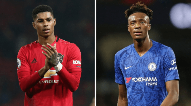 Marcus Rashford messaged Chelsea's Tammy Abraham after Manchester United beat Tottenham