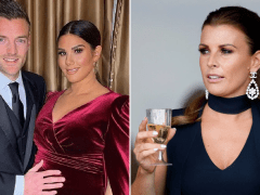 Heavily pregnant Rebekah Vardy hits her first red carpet after *that* Coleen Rooney feud