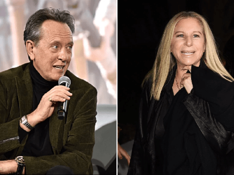 Richard E Grant purchased 3-foot statue of Barbra Streisand and we're trying not to rain on his parade