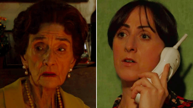 Sonia Fowler and Dot Branning in EastEnders