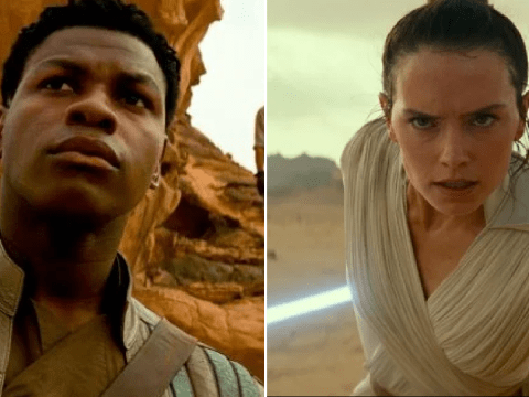 John Boyega sets record straight on Star Wars theory about Finn's 'love' for Rey
