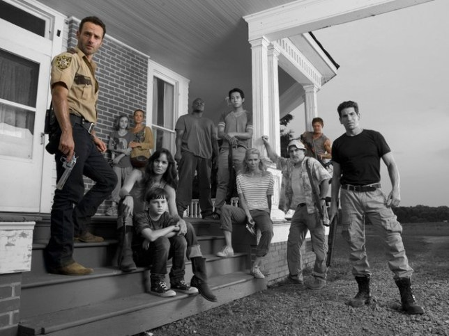 The Walking Dead original cast