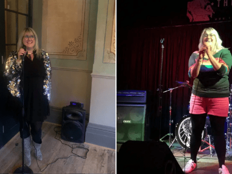 Woman who was terrified of public speaking reveals how drunken New Year's resolution helped her become a stand up comedian