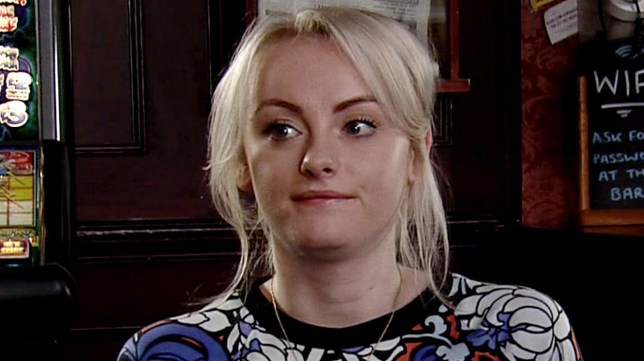 Sinead in Coronation Street