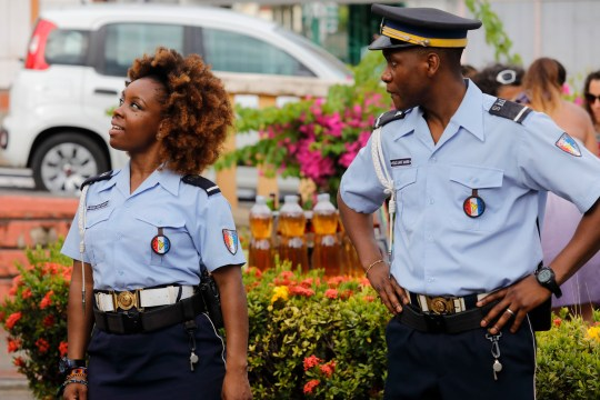 Ruby gets distracted Death in Paradise