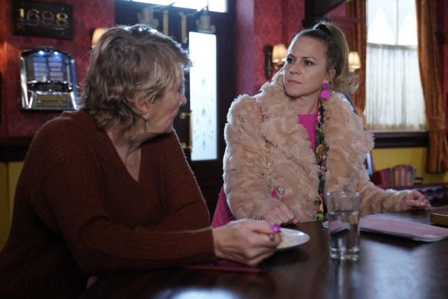 Shirley and Linda in EastEnders