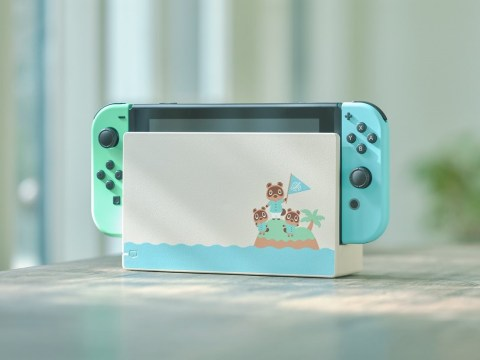 Animal Crossing-themed Nintendo Switch wins the Internet's heart