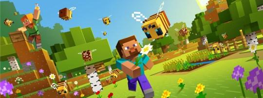 Minecraft bees