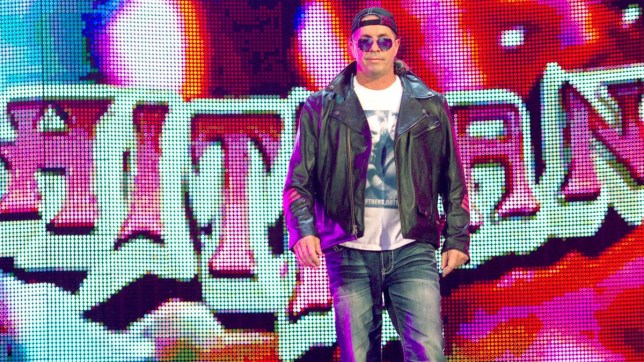 WWE legend Bret Hart makes his entrance