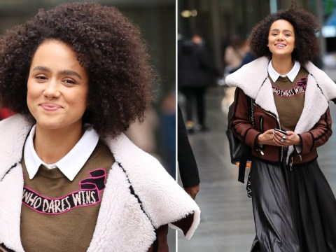 Nathalie Emmanuel is keeping her head held high after telling soap snobs to 'suck it'