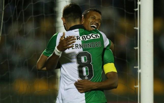 Luis Nani and Bruno Fernandes