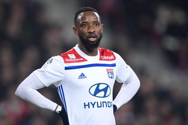 Lyon striker Moussa Dembele
