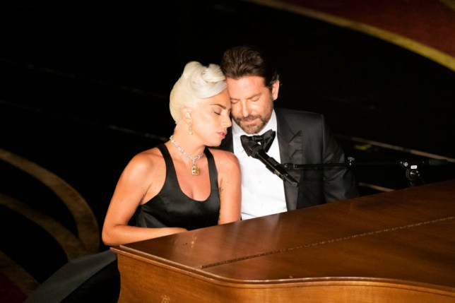 Lady Gaga and Bradley Cooper Oscars duet