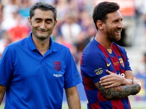 Lionel Messi pays tribute to Ernesto Valverde after Barcelona sacking