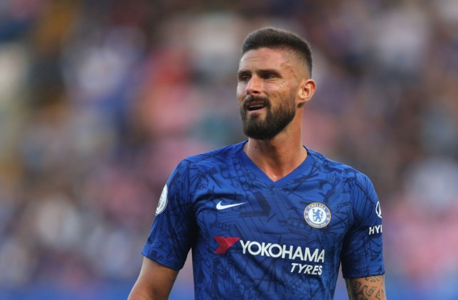 Olivier Giroud was desperate to leave Chelsea in January (Picture: Getty)