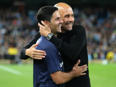 Pep Guardiola issues blunt response when asked if he is missing Mikel Arteta