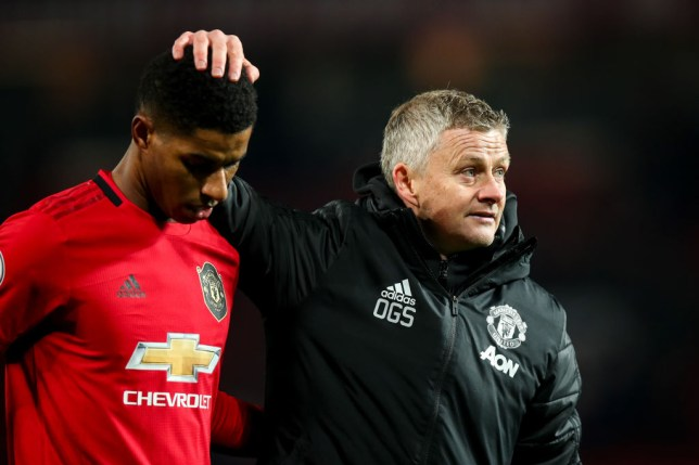 Ole Gunnar Solskjaer to pursue striker signing as Marcus Rashford is out for several months with back fracture