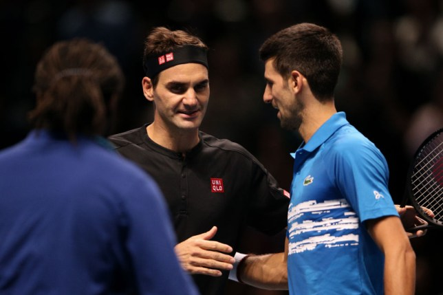 Roger Federer faces Novak Djokovic in the semi-finals of the Australian Open